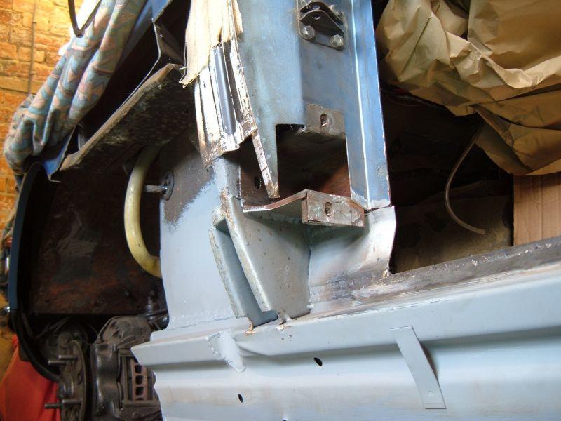 Aston Martin V8 A Pillar Welding