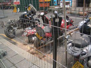 Battered bikes