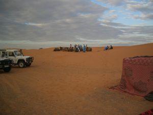 Tuareg encampment