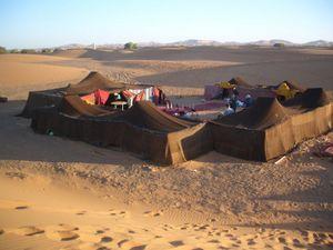 Cosy Tuareg camp
